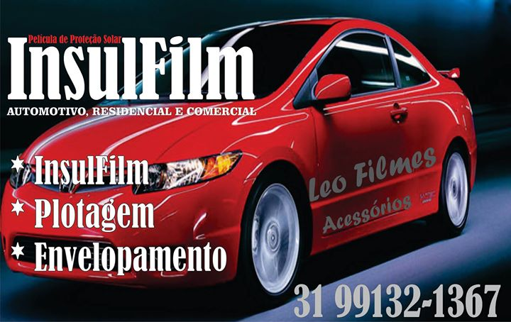 Insulfilme Residencial, Automotivo, Plotagem