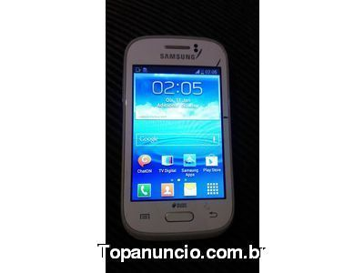 VENDO 2 CELULAR. 1 SAMSUNG Galaxy Young com TV 90$ 1 ALCATEL ONE TOUCH FIRE. 50$