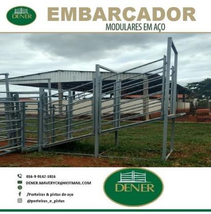 Embarcador e Curral