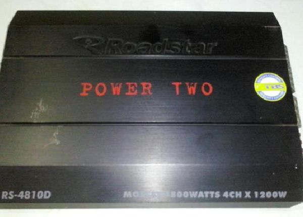 Vendo/Troco módulo power two 4800watts