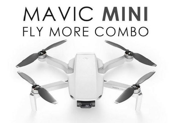 Mavic Mini, 2 Pro e Zoom, Phantom 4 Pro V2.0 Normal e Plus