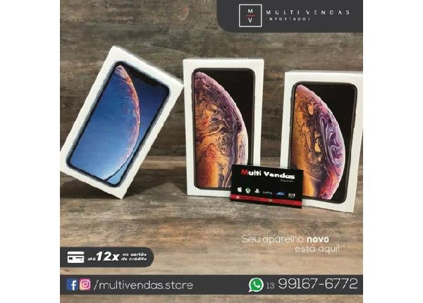Apple Xr 64gb Iphone Desbloqueado Ios 12 4g