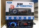 Som Automotivo Knup C22 Bluetooth Cartão Sd Rádio Fm Aux-in usb