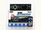 Som Radio Automotivo Bluetooth Controle Remoto Mp3 Usb Sd