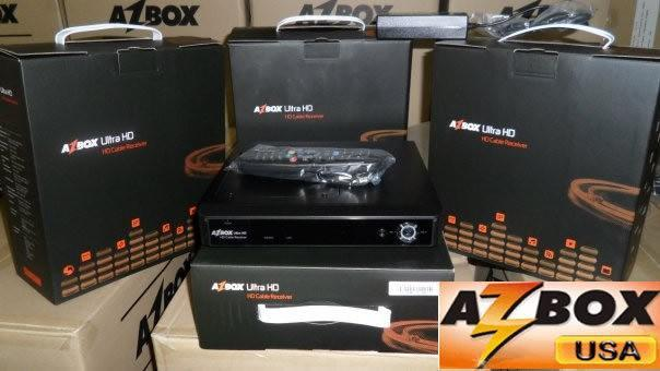 RECEPTOR CABO AZBOX HD ULTRA CABLE RECEIVER